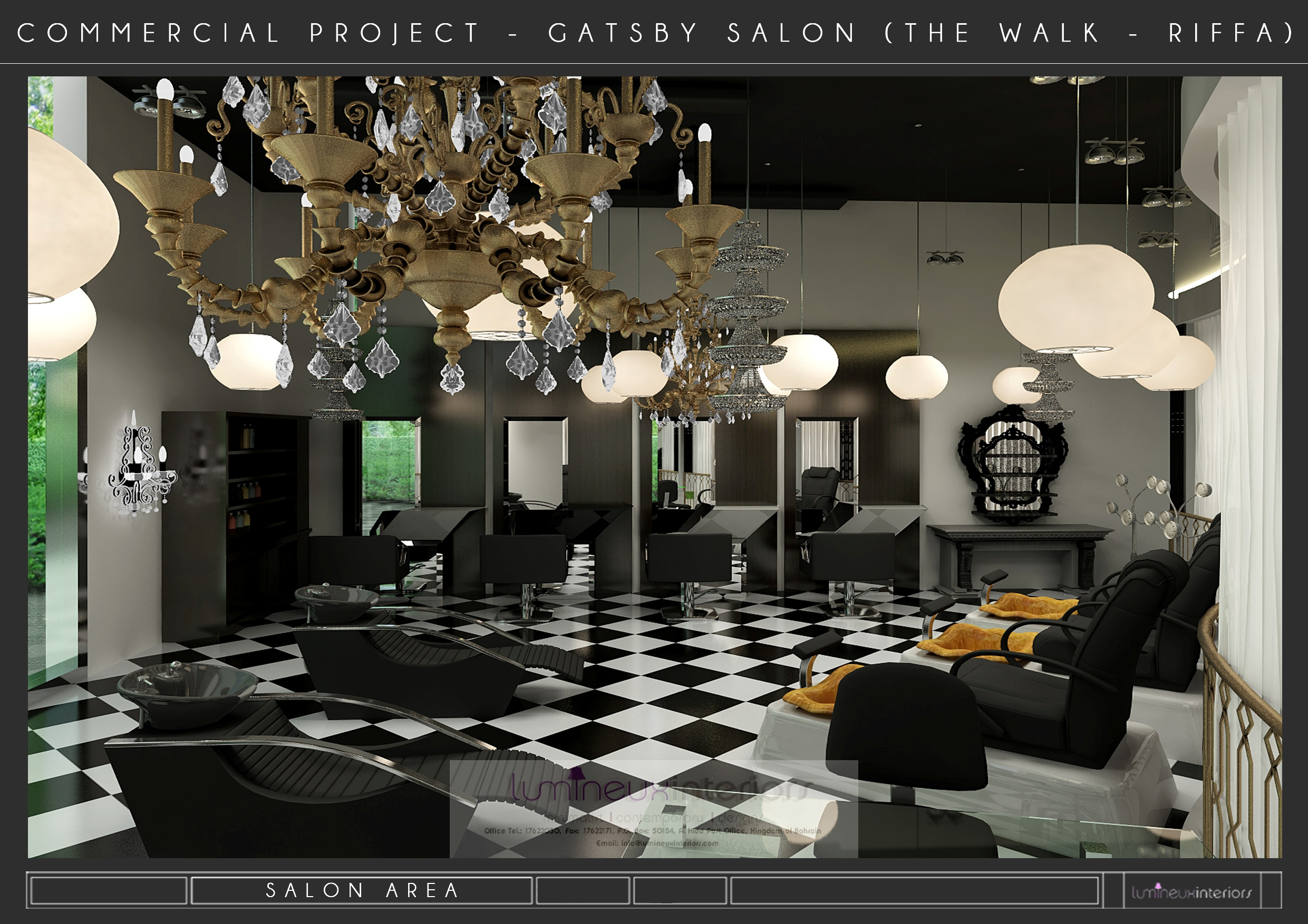 Gatsby Salon (THE WALK – RIFFA)